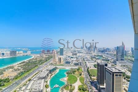 فلیٹ 3 غرفة نوم للايجار في دبي مارينا، دبي - Amazing and Huge 3 Beds + Maids | Full Sea View