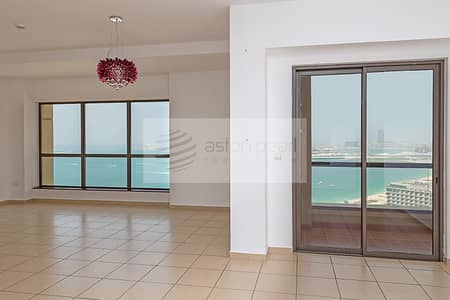 3 Bedroom Flat for Rent in Jumeirah Beach Residence (JBR), Dubai - Most Exclusive 3 BR+M in JBR | Panoramic Sea View