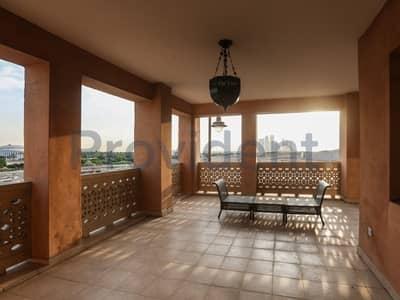 2 Bedroom Flat for Sale in Dubai Festival City, Dubai - Terraced  2BR+M Apt|Hillside| Freehold