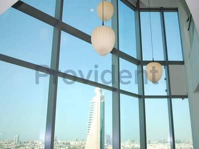 شقة 4 غرفة نوم للايجار في مركز دبي التجاري العالمي، دبي - Luxury Fully Furnished 4BR Duplex|Vacant