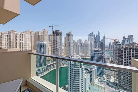 1 Bedroom Apartment for Rent in Dubai Marina, Dubai - 1BR Marina Mall Hotel Apartment | Ready to Move in