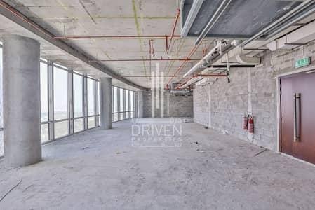 مکتب  للايجار في مركز دبي المالي العالمي، دبي - Rare Shell and Core Office with Nice View