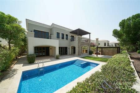 4 Bedroom Villa for Sale in Jumeirah Golf Estate, Dubai - Valencia Villa | Full Golf Course Views