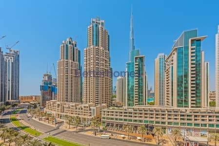2 Bedroom Flat for Sale in Downtown Dubai, Dubai - Burj view with 2 years post payment plan