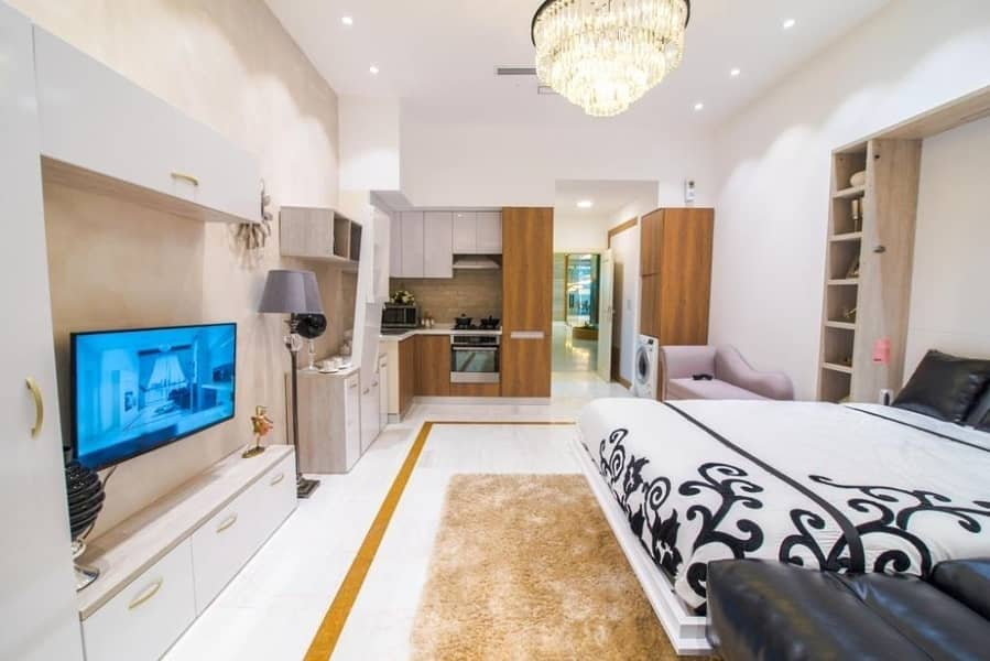 Premium Studio Apartment-  Fully Furnished with 6-Years Payment Plan  in Business Bay