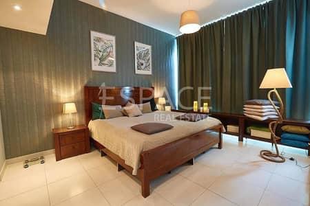 شقة 1 غرفة نوم للايجار في دبي مارينا، دبي - Furnished - 1 BHK - Marina View Tower