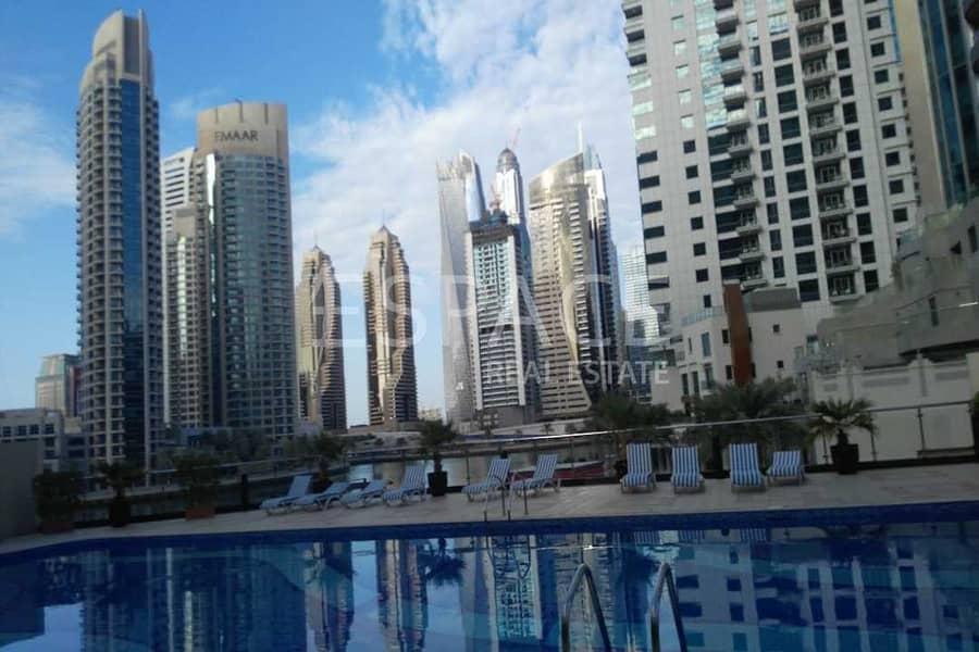 9 Furnished - 1 BHK - Marina View Tower