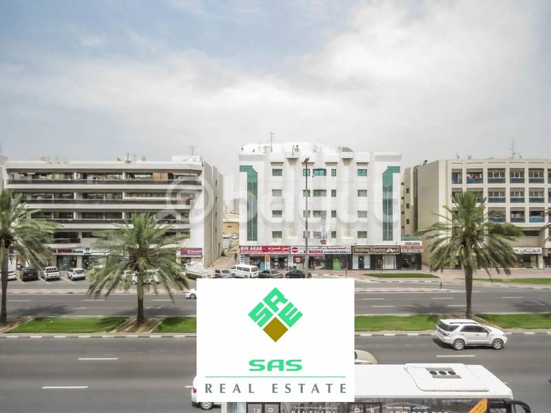 2 3 Bed room Hall (1604 sq.ft) Apartment for Residential/ Office  Purpose in Damascus street Al Qusais Industrial-2
