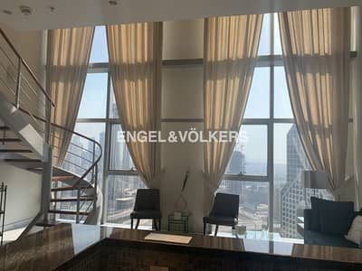 2 Bedroom Flat for Rent in DIFC, Dubai - High Quality Furnished | Best View|High Floor