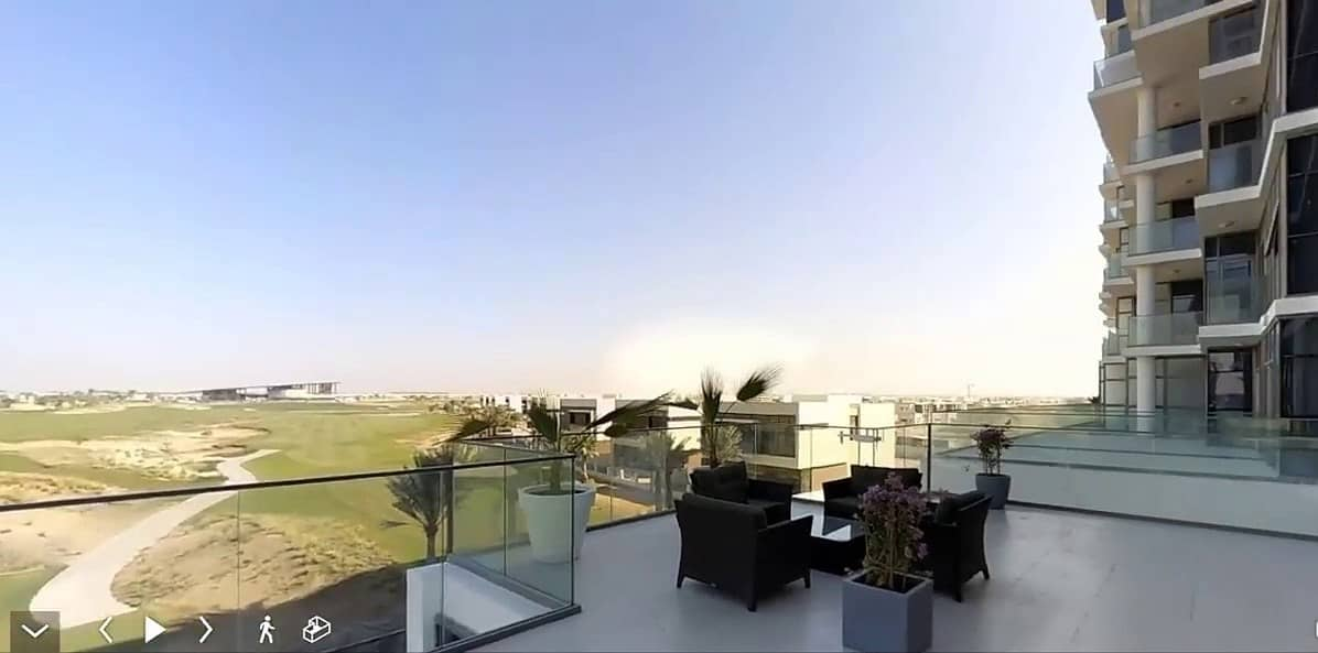 10 High-End  Ready Large 3BR Hotel Apartment for sale in Damac Hills | Furnished | Great Price Offer | Golf Course Views