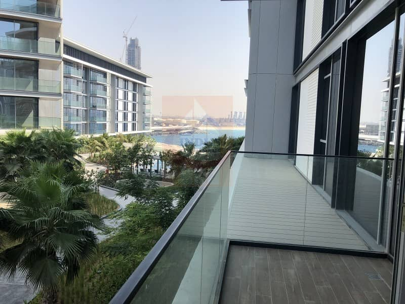 Pleasant View of Garden and Sea from 1 BR at Bluewaters