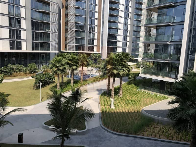 2 Pleasant View of Garden and Sea from 1 BR at Bluewaters