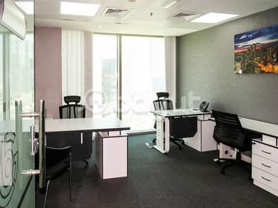 Office for Rent in Business Bay, Dubai - Fully fitted office for rent in Binary Tower- No commission!