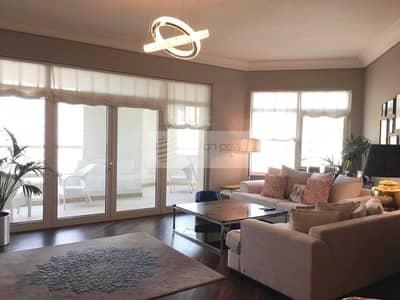 فلیٹ 3 غرفة نوم للايجار في نخلة جميرا، دبي - Fully Furnished | Upgraded 3Br+M | Available Now