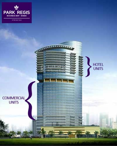 1 Bedroom Hotel Apartment for Sale in Business Bay, Dubai - 4 star Hotel