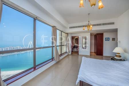 فلیٹ 2 غرفة نوم للبيع في جي بي ار، دبي - Stunning View | Rimal 6 | High Floor