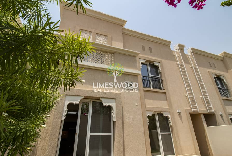 2 Middle Unit 3BR+Maid Traditional Villa | FREE: One Month Rent+Maintenance