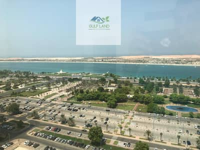 Sea view 3 bedrooms apartment 4 bathrooms maids room in corniche area for rent