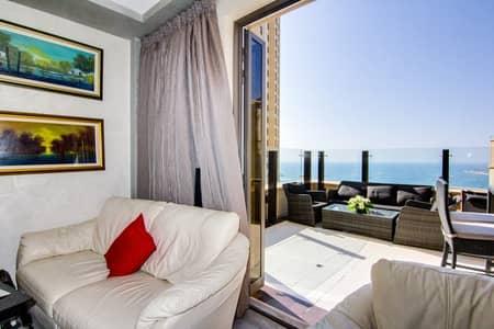 شقة 2 غرفة نوم للبيع في جي بي ار، دبي - Exclusive 2Bed Apt | Sea and Marina View