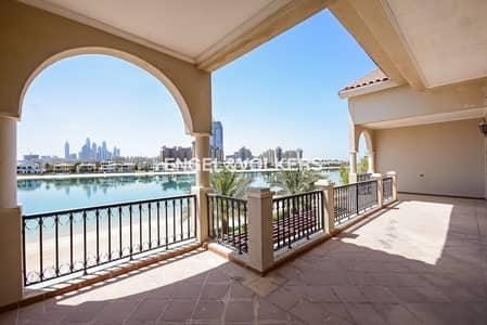 فیلا 6 غرفة نوم للبيع في نخلة جبل علي، دبي - High Numbered Villa | Furnished | Beach View
