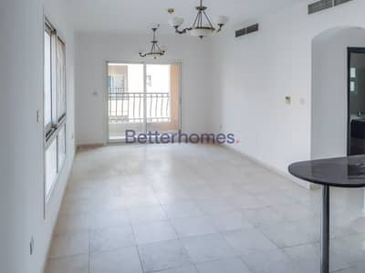 فلیٹ 1 غرفة نوم للايجار في قرية جميرا الدائرية، دبي - Pool View | Vacant | 12 Chqs