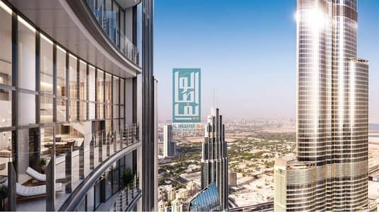 5 Bedroom Apartment for Sale in Downtown Dubai, Dubai - OWN AN ELEGANT 6 BR PENTHOUSE WITH DIRECT VIEW OF BURJ KHALIFA