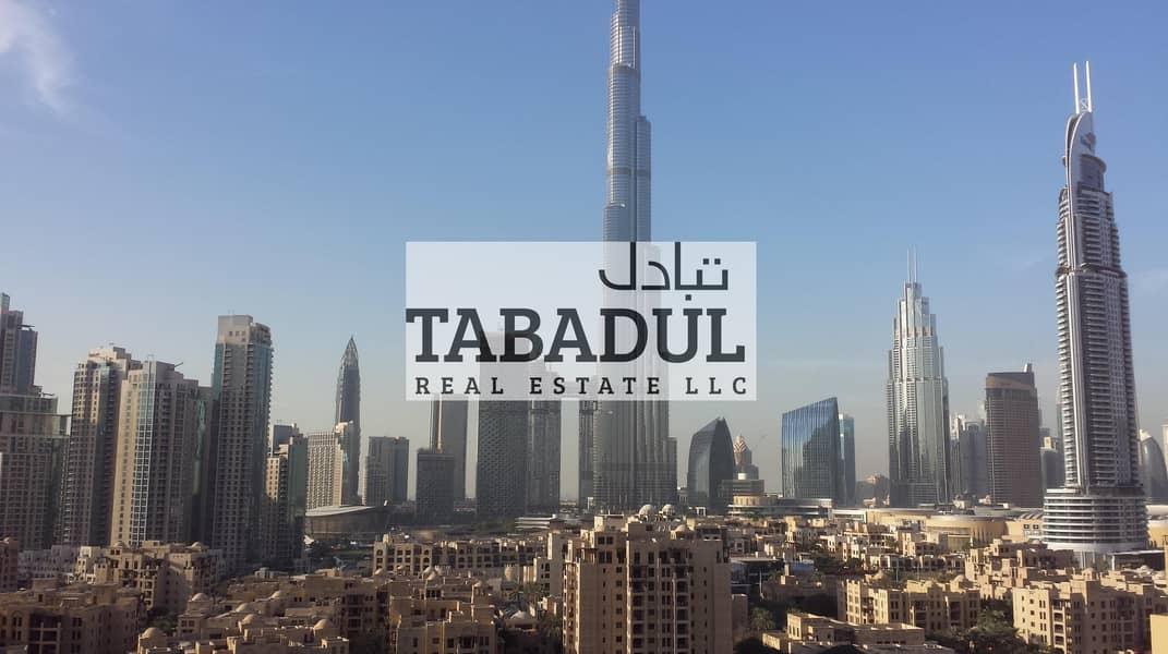 Brand New |2 BR|Fully Furnished|Burj Khalifa View