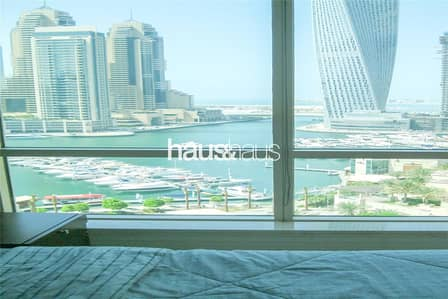 2 Bedroom Apartment for Rent in Dubai Marina, Dubai - Marina | 2 Bed | Sea View | Unfurnished