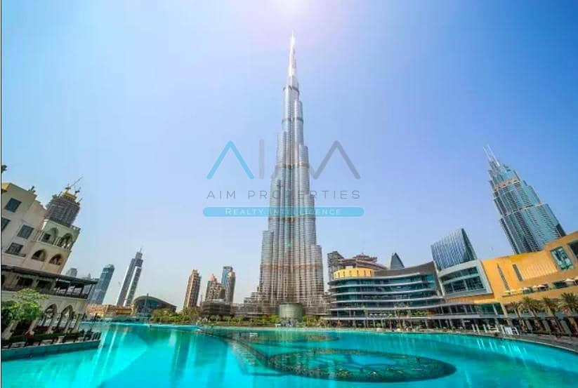 10 PRICED TO SELL 1BR IN BURJ KHALIFA-DOWNTOWN