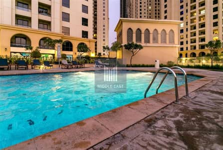 فلیٹ 1 غرفة نوم للايجار في جي بي ار، دبي - Exclusive | HUGE 1 BHK | JBR | Marina View