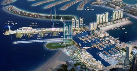 فلیٹ 2 غرفة نوم للبيع في دبي هاربور، دبي - OWN A LUXURY DIRECT SEA VIEW APARTMENT