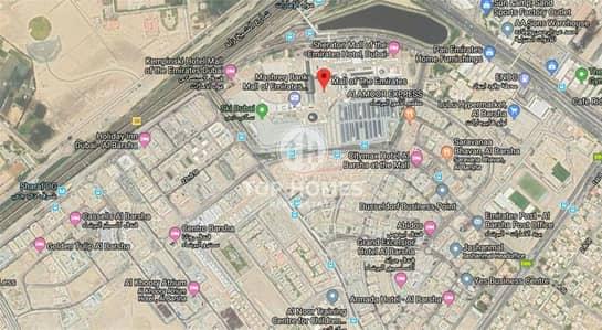 Plot for Sale in Al Barsha, Dubai - Exclusive residential plot | G+12 | Near MOE