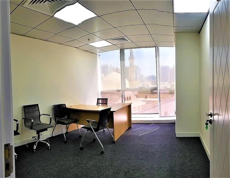 2 Spacious & Elegant Fully Furnished Office