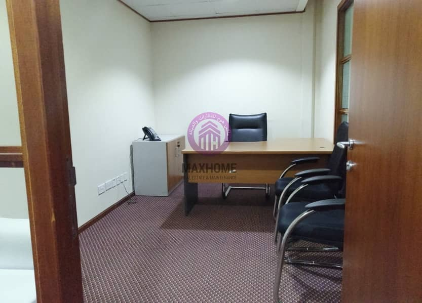 2 Vacant Office  Now Available | Fully furnished | All included