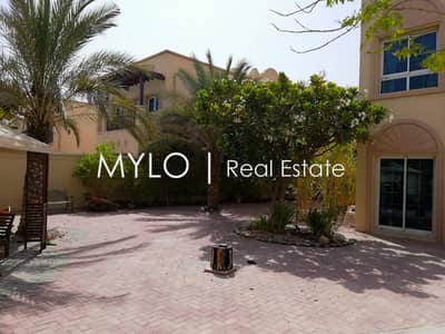 فیلا 2 غرفة نوم للايجار في مثلث قرية الجميرا (JVT)، دبي - Beautiful Garden Vacant and ready to move