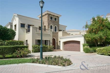 فیلا 5 غرفة نوم للبيع في عقارات جميرا للجولف، دبي - Valencia | 5 Bedrooms | Lake View | Pool