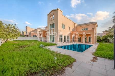 فیلا 6 غرفة نوم للبيع في مدينة دبي الرياضية، دبي - A Type - Lake & Golf Course View -Vacant