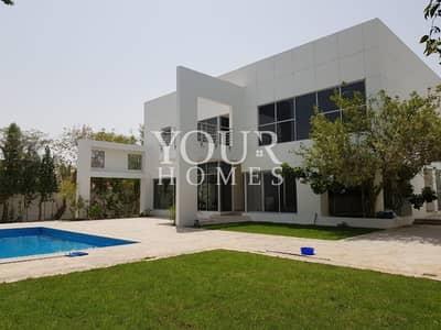 فیلا 5 غرف نوم للايجار في البرشاء، دبي - Luxury 5B+M+Driverroom Villa | Pvt Pool & Garden