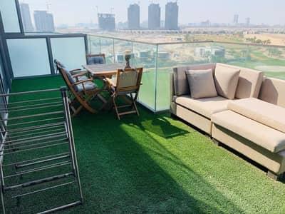 2 Bedroom Flat for Sale in DAMAC Hills (Akoya by DAMAC), Dubai - Full Golf Course View 2 BR Plus Maid Room for Sale Golf Terrace B Akoya Damac Hills