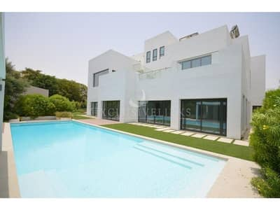 6 Bedroom Villa for Rent in Al Barari, Dubai - World Class | Custom Built Contemporary | Vastu |