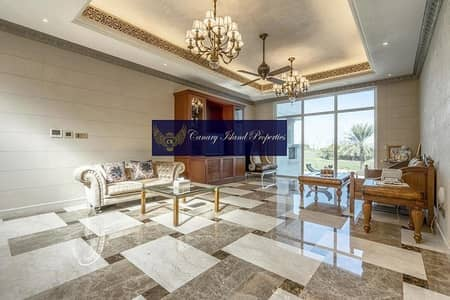 7 Bedroom Villa for Sale in Emirates Hills, Dubai - GOLF COURSE VIEW ! VACANT ON TRANSFER