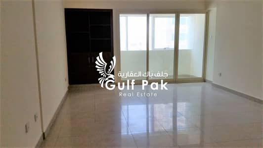 3 Bedroom Flat for Rent in Tourist Club Area (TCA), Abu Dhabi - Alluring 3BHK with balcony 4 Chqs near Ramada Hotel