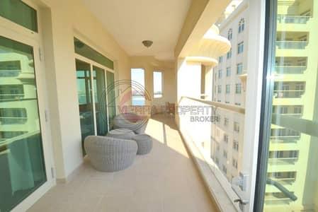 فلیٹ 1 غرفة نوم للايجار في نخلة جميرا، دبي - sea view|chiller free|Beach access|Furnished