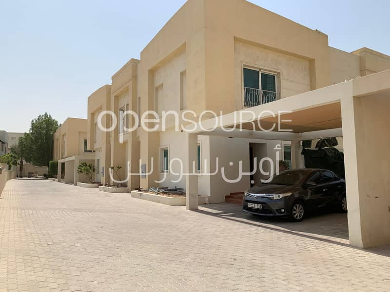 2 Best Offer and One Month Free! Very Nice Compound villa with Private Swimming pool