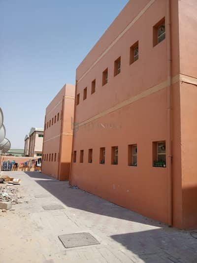 سكن عمال  للايجار في الجرف، عجمان - Fully Furnished Labor Rooms Available in Jurf Industrial Area Ajman