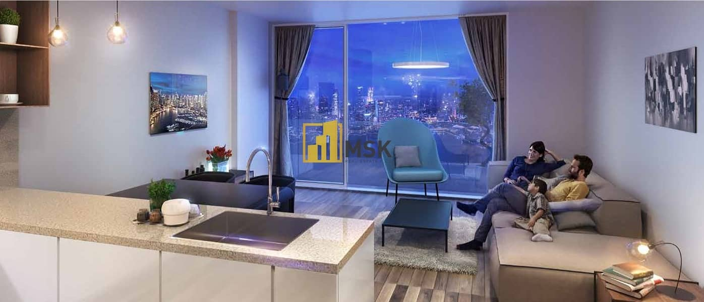 2 Overlooks Beautiful Scenery of  Dubai | Next to Metro Station