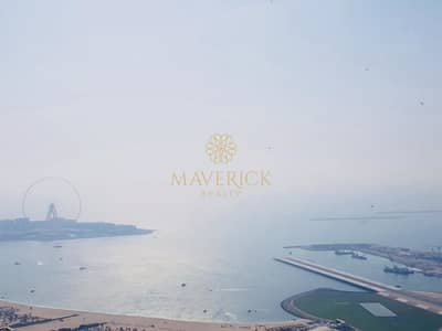 2 Bedroom Flat for Rent in Dubai Marina, Dubai - Elegant 2Bed | Blue Waters+Palm View | High Floor