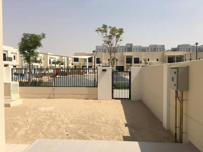 3 Bedroom Townhouse for Rent in Town Square, Dubai - Brand New Single Row Near Pool & Park 3 bedroom Safi Townhouse , Town Square, Dubai