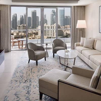فلیٹ 1 غرفة نوم للايجار في وسط مدينة دبي، دبي - Fully Furnished I Mid Floor I Inclusive All Bills