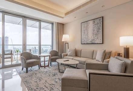 فلیٹ 1 غرفة نوم للايجار في وسط مدينة دبي، دبي - Boulevard View I Fully Furnished I Inclusive Bills
